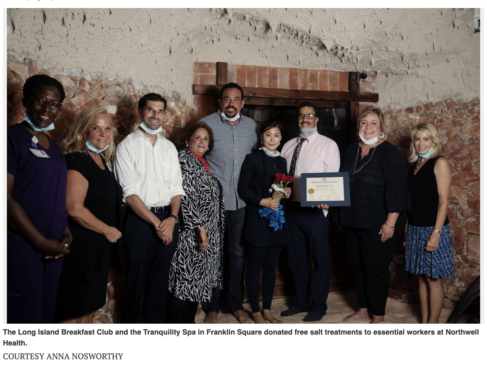 Long Island Breakfast Club helps to aid essential workers